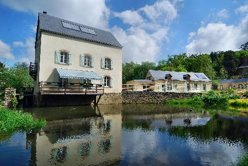 Bed & breakfasts Mayenne, from 69 €/Nuit. House of character, Nuille sur Vicoin (53970 Mayenne), Charm, Guest Table, Sauna, Garden, Disabled access, Net, Baby Kits, 4 Double Bedroom(s), 8 Maximum People, Lounge, Library, ...