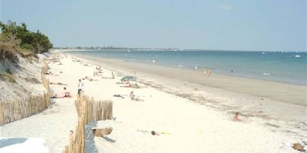 La villa du Guip La plage de sable fin