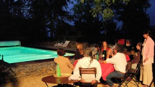 Chambre d'hote Pyrénées-Orientales - Dîner en table d'hôtes