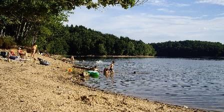 Les 4 Saisons en Morvan La baignade au lac de Chaumeçon