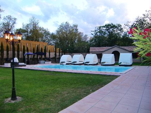 b&b chambre d'hote chateau languedoc table d'hote swimming pool