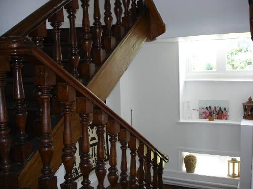Chambre d'hote Allier - La cage d'escalier