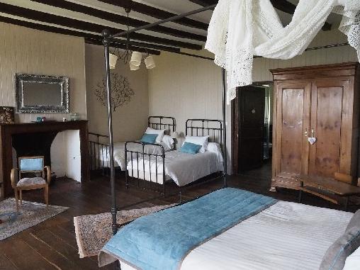 Chambre d'hote Cantal - La salle à marger
