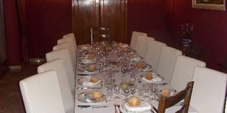 Chambre d'hotes Château De La Marjolaine > Table d'Hôtes