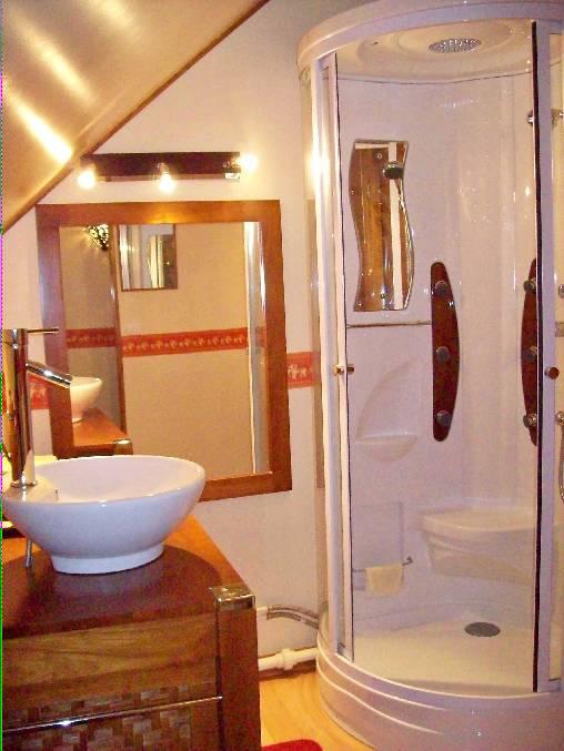 Chambre d'hote Allier - Salle d'eau Bali