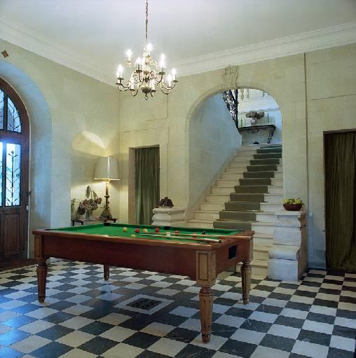 Chambre d'hote Mayenne - Le billard.