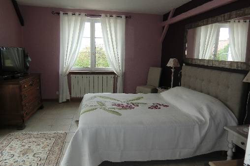bed & breakfast Loir-et-Cher - Hortensias suite room 1
