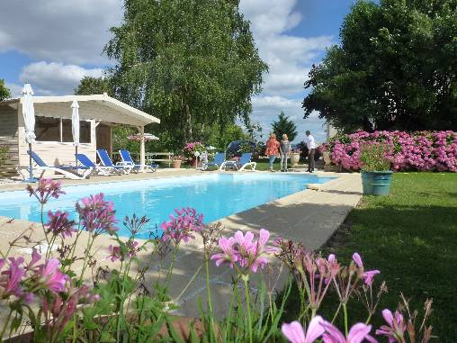 bed & breakfast Loir-et-Cher - The Swimming Pool