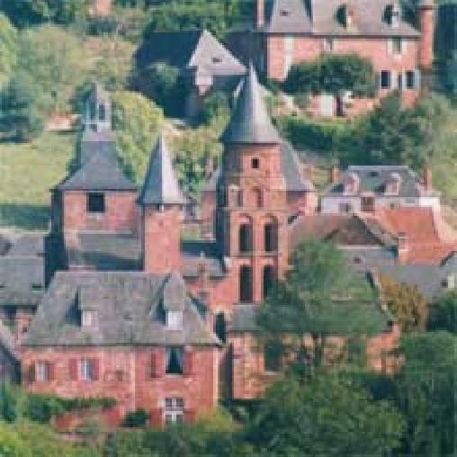 Chambre d'hote Corrèze - Collonges La Rouge, Site classé