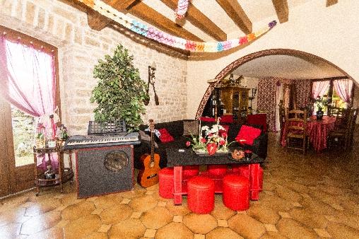 Chambre d'hote Corrèze - Salon/Salle à manger