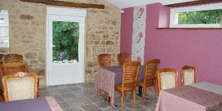 Relais Ty Er Berre Salon rose privé familial