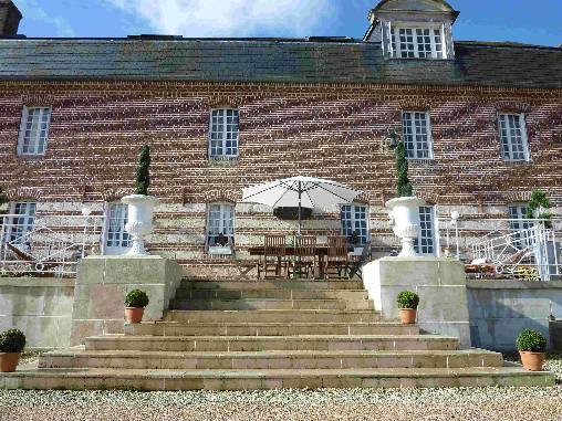Chambre d'hote Oise - La terrasse de Vésigneux