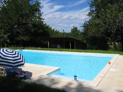Chambre d'hote Dordogne - la piscine
