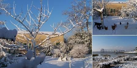 Le Clos des Rosiers Ambiance hivernale