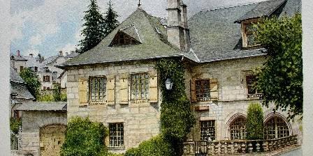 Maison Grandchamp Maison vue côté place