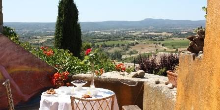 Chez Dominique et Peter Petite déjeuner sur la terrasse