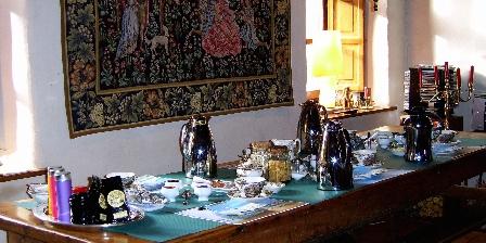 Manoir de Coat Gueno Le petit déjeuner