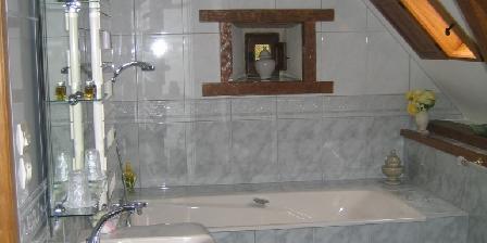 Manoir de Coat Gueno Salle de bains des Perséides