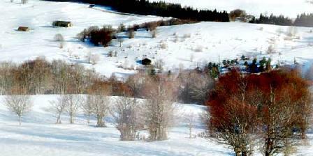 La Croix Longue La Croix Longue - Aveyron et ses beaux paysages en hiver