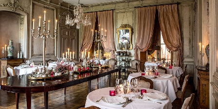 Chateau des Briottieres Diner by candlelights