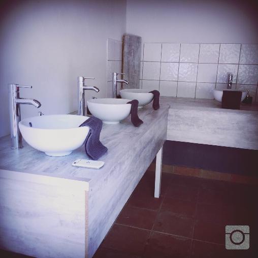 lodge:lavabos à partager
