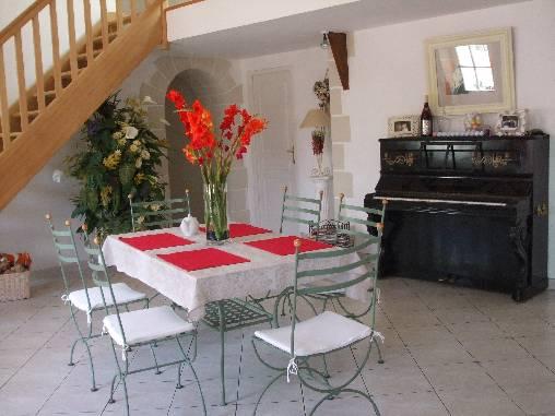 Chambre d'hote Indre-et-Loire - Salle à manger