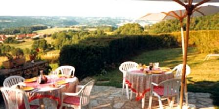 Manoir Des Farguettes Terasse-Panorama