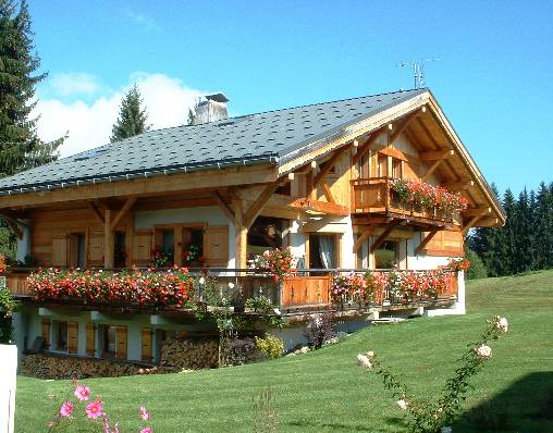 Bed & breakfasts Haute-Savoie, from 90 €/Nuit. Chalet, Cordon (74700 Haute-Savoie), Charm, Garden, WiFi, T.V., Baby Kits, 4 Double Bedroom(s), 10 Maximum People, Chimeney, 3 épis Gites De France Charmance, Relai Bb Calin, Trav...