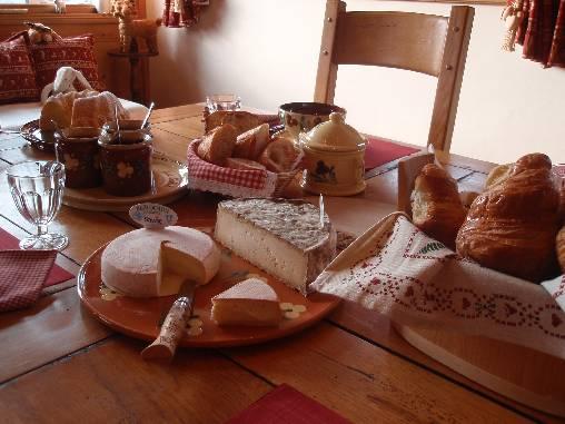 Chambre d'hote Haute-Savoie - petit déjeuner gourmand