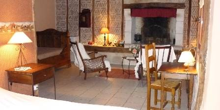 Bed and breakfast Les Bournais > chambre `Campagne`