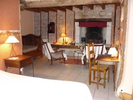 Chambre d'hote Indre-et-Loire - chambre