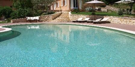 La Villa du Peire-long Swimming pool and villa
