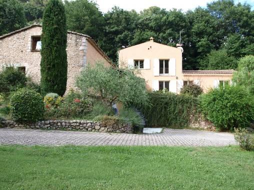 Vue générale de la villa