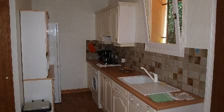 La Villa du Peire-long 2 rooms apartment kitchen