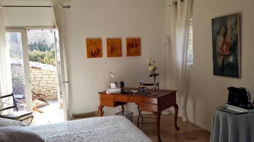 Les Terrasses - Gordes : chambre Isabelle