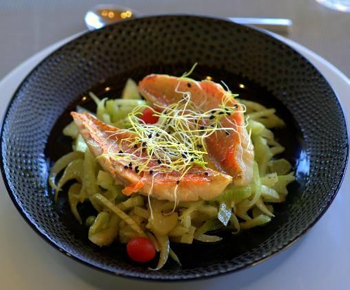 Les Terrasses - Gordes : diner en Table d'Hôtes