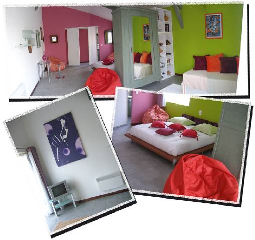 Chambres d 39 hotes gers la renaudie for Chambre hote gers