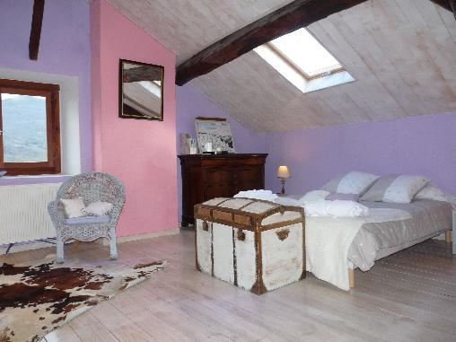 Chambre d'hote Ariège - le grenier de la ferme