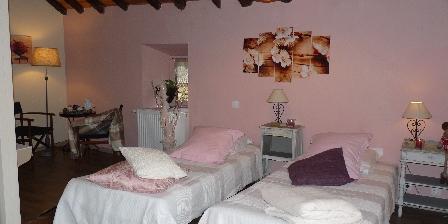 Les chataigniers de Florac Le grenier à grain en 2 lits simple