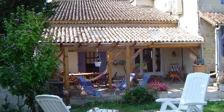 Chambre d'hotes Au Retour à La Source > la terrasse et le jardin