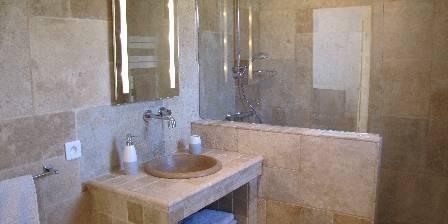 L'auberge Des Censi�s Salle de bain c�t� vignes