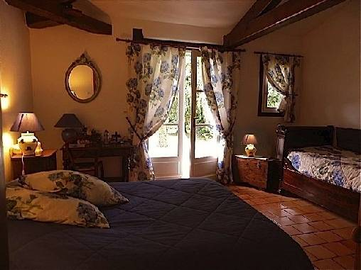 Chambre hortensias