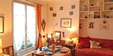 Ferienunterkunft Montmartre Balade > espace repas