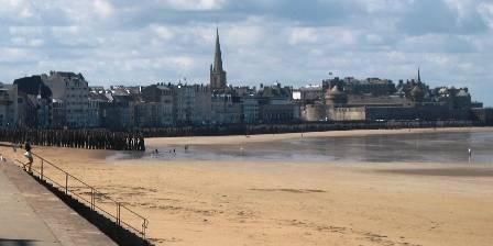 Le Nid La grande plage de Saint Malo