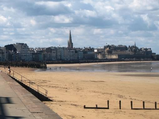 Chambre d'hote Ille-et-Vilaine - La grande plage de Saint Malo