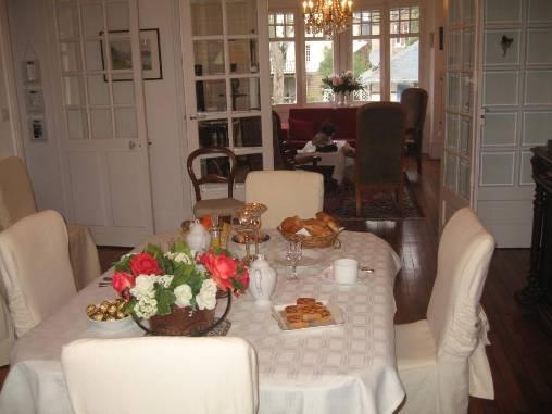 Chambre d'hote Ille-et-Vilaine - salle à manger et salon