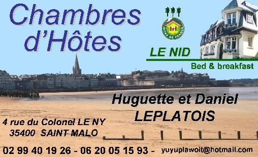 Chambre d'hote Ille-et-Vilaine - acces