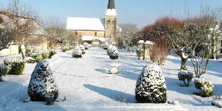 Gîtes Château de la Voute Ambiance hiver