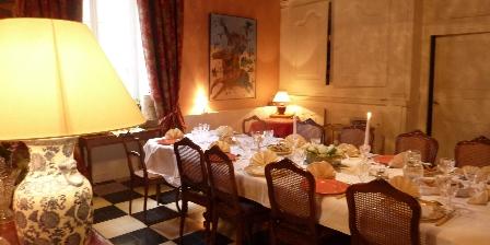 Château de la Hussardière Salle à Manger