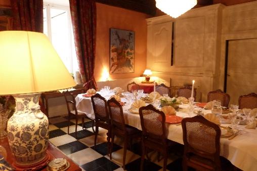 Chambre d'hote Haute-Saône - Salle à Manger